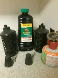 Torches and torch fuel mosquito repellency Marietta, 30060