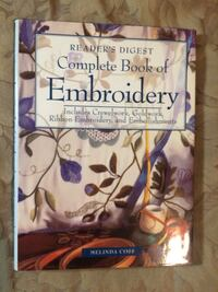 Complete book of embroidery  Vancouver, V6H 1S9