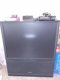 "Hitachi 55"" TV with wheels Moving Sale!!! Stafford, 77477"