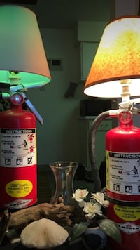Fire extinguisher lamps  Clive, 50325