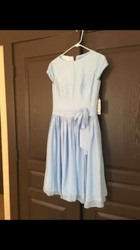 $25 OBO Sky Blue Size 8US Bridesmaid Dress 1806 mi