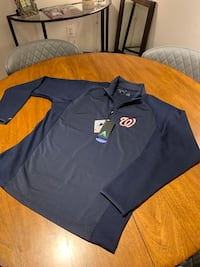 Washington Nationals Quarterzip Fleece Pullover Brand New w/ Tags Arlington, 22201