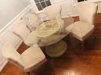 Dining Room Table with 4 beautiful Chairs**GREAT CONDITION! Aldie, 20105