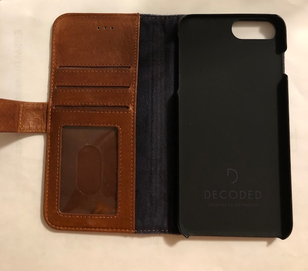 Brown Leather Phone Case/Wallet 3