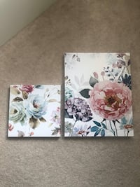 Set of 2 Floral Wall Decor Piece Markham, L6B 1N4