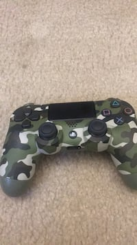 black and gray camouflage Sony PS4 controller Germantown, 20874