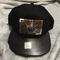 black and gray fitted cap Honolulu, 96817