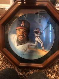 Reggie Jackson Signed 500th Home Run Limited Edition Collector Plate Henderson, 89014
