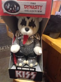 The dynasty collection kiss gene simmons bear plush toy! Indianapolis, 46240