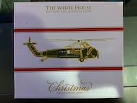 White House Christmas ornaments 2019 Gainesville, 20155