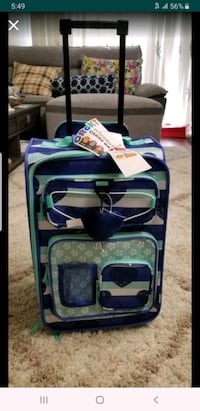 Kids carry on Suitcase