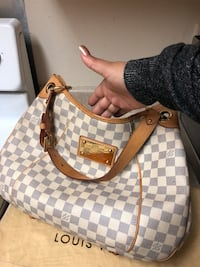 Authentic Galliera pm Damier azur 2274 mi