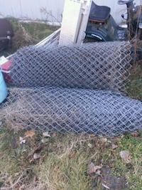 black metal chain link fence Clio, 48420