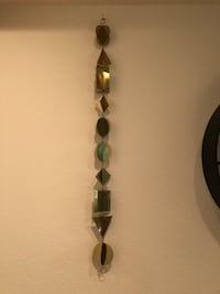 Gold wall accent pieces - 3 qty San Diego, 92108