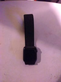 black Apple Watch with black Sport Band Seattle