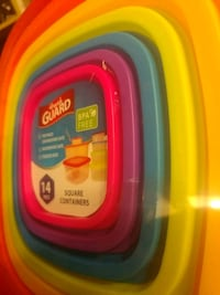 Tupperware Bowls with color coded lids Columbus