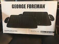 George Foreman Waffle Plates for Evolve Grill - New Las Vegas, 89147