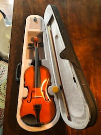 brown violin with bow in case Wentzville, 63385