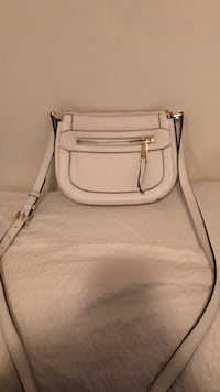 women's white leather sling bag Vancouver, V5Z 1A3
