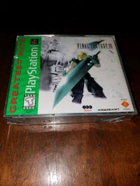 Final Fantasy 7 / Sealed / Playstation