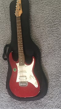 Red and white ibanez Ocean View, 19970