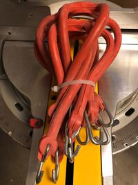 Red and black corded device