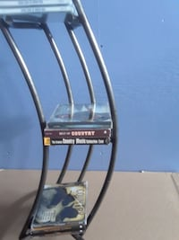 IRON CD/DVD Tower Stand