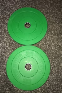 Olympic weights 2/25 pound plates