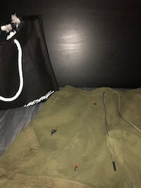 Travis Scott olive suede shorts size Large from livestock  Toronto, M5B 2H1