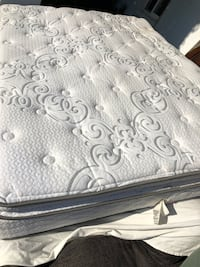 white and gray floral mattress Lakeside, 92040