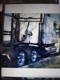 black and gray utility trailer 1198 mi