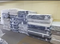 New mattresses in the plastic at half of retail store prices w/ Free next day delivery on most!!!  Charlotte