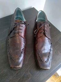 Dress shoes for men made in Italy size 45 12 Montréal, H3X