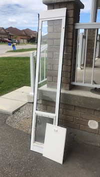 Dog door for large or small dogs