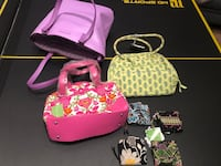 10 Assorted VERA BRADLEY Purses and wallets (each sold separately)  Sidman, 15955
