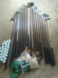 Left and right golf set