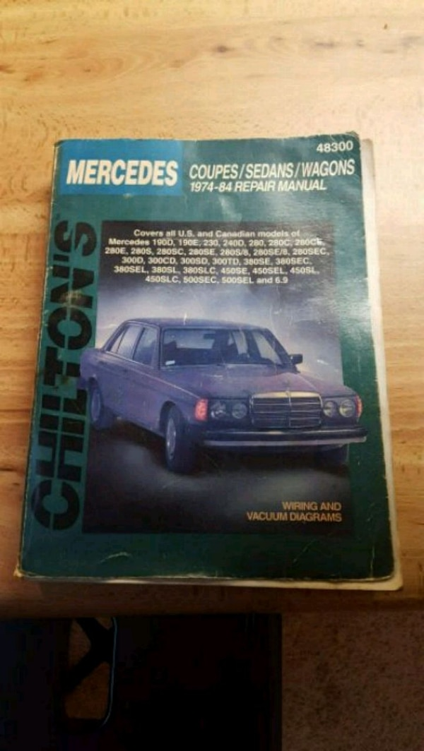 1974 Mercede Benz Wiring Diagram