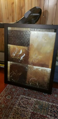 brown wooden framed painting of brown wooden house Richmond Hill, L4C 2V7