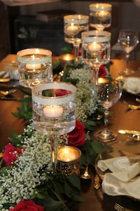 Glass candle cup holders  Mississauga