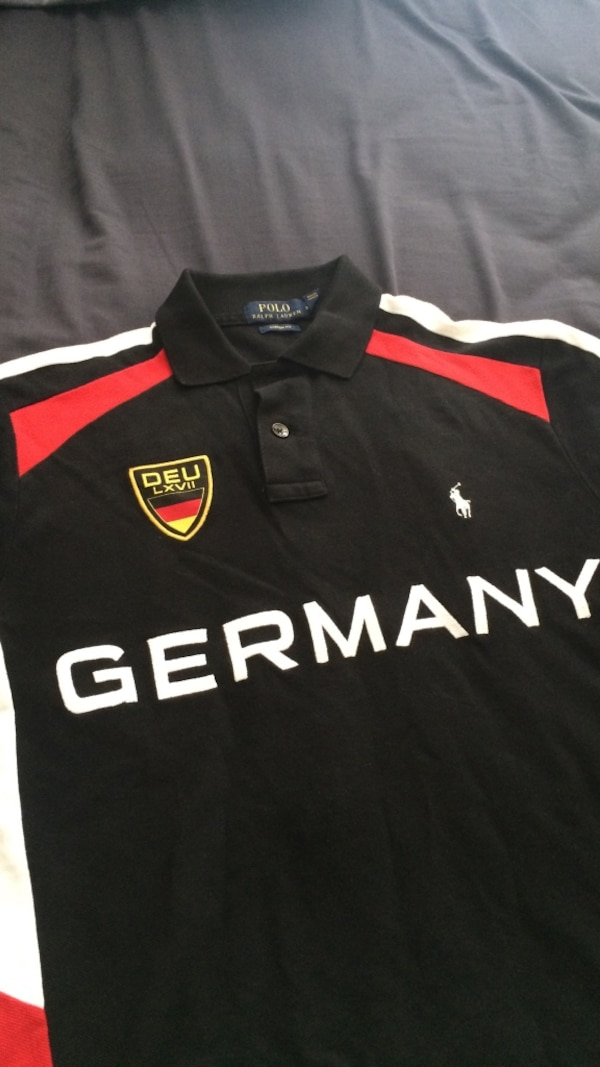 f15516532b14 Used black deu lxvii germany polo by ralph lauren polo shirt for ...
