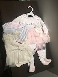 baby's white and pink dress Courtice, L1E 2Z2