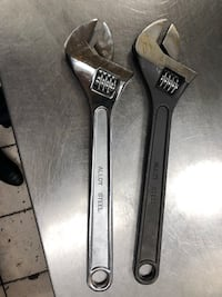 "Adjustable wrench 15"" and 18"" Toronto, M4P 2E7"