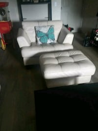 Selling as set sofa ottoman and chair 1207 km