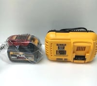 Dewalt flexvolt battery and fast charger Toronto, M4M