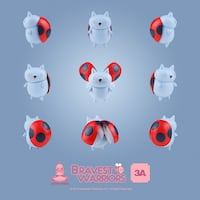 3A Bravest warriors CatBug limited edition Collectable vinyl toy  Calgary