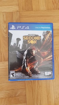 InFamouse Zweite Sohn PS4 Spiel Fall