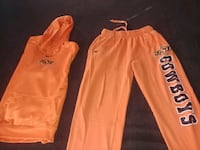 OSU ATHLETIC WEAR: NIKE HOODIE PULLOVER/ SWEATSHIRT & SWEATPANTS