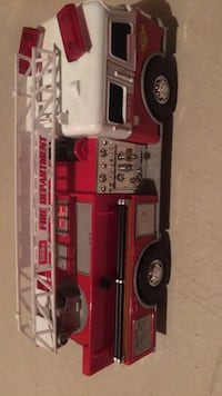 red and white plastic toy car Vaughan, L4H 0H8