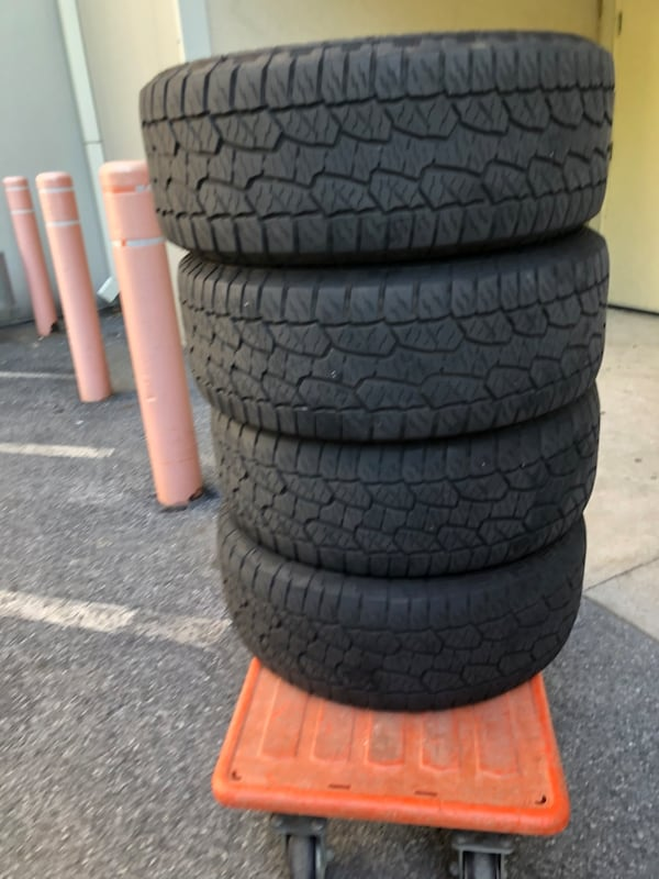 (4) Hankook Dynapro AT Tires 08168beb-058e-4cbd-9a94-c30e96a620a7