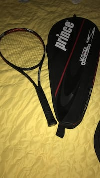 Black and red prince tennis racket Annandale, 22003